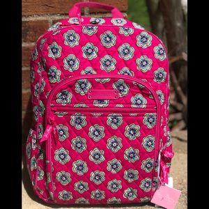 Vera Bradley Pink Swirls backpack Flowers